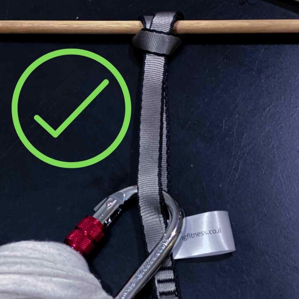 נעילת ״חנק״ של רצועת דייזי של ערסל אווירי